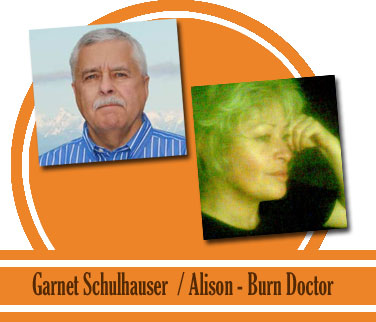 Alison from the Burn Doctors / Garnet Schulhauser
