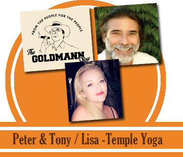 Peter Goldmann & Tony Minervino / Lisa Temple Yoga